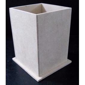 Lapicero Portalápices Fibrofacil 6x6x9 Excelente Calidad