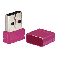 Pendrive Nano Multilaser Pd063 8gb Rosa Mania Virtual