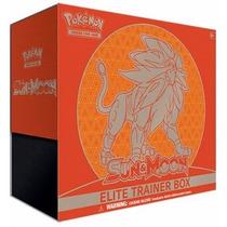 Pokémon - Elite Trainer Box Sun - Sun And Moon ( Sol E Lua )