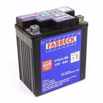 Bateria Twister/falcon/cb300/fazer/hornet 05/07 6ah Fabreck