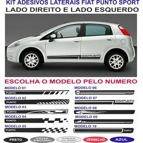 Acessorios Adesivo Lateral Fiat Punto Essence Attractive Kit