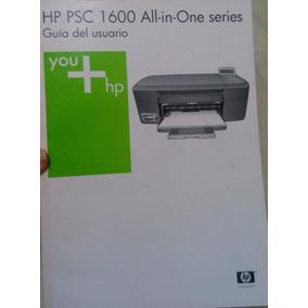 Manual De Impresora Hp Psc 1600 All In One Series