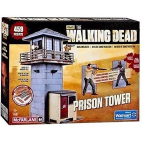 Set Amc The Walking Dead Torre Da Prisão Mcfarlane Toys