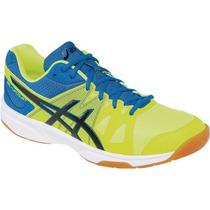 Tenis Asics Upcourt Amarillo Para Voleibol, Handball, Gym