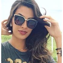 Oculos De Sol Feminino Cinema Evolution + Case Personalizado