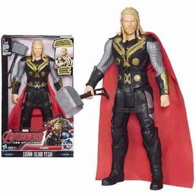Boneco Articulável Avengers Vingadores Thor Com Som E Luz