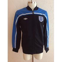 Chamarra Trackjacket Inglaterra Color Negro Umbro 2012-2013