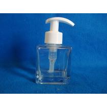 Porta Sabonete Liquido Vidro Cubo 100ml C/válvula Kit C/100