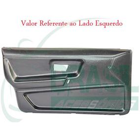 Forro Porta Santana 4 Portas 85/90 Preto Dianteira Esquerda