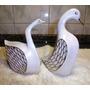 Par De Patos De Ceramica , Pintados A Manos