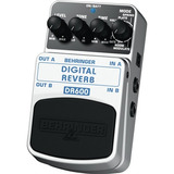 Behringer Dr600 Digital Reverb Pedal Efecto Audiomasmusica
