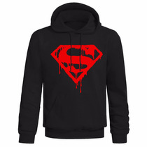 Buzo Superman Logo Frisa Premium
