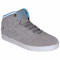 Zapatillas Emerica The Reynolds Gris Hombre Skate Ea051130