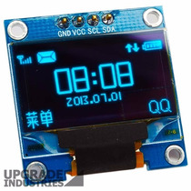 Display Oled 128x64 0.96 I2c Gráfico Arduino Escrita Azul