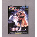 Volver Al Futuro 2 -back To The Future Poster Cine 90x60 Cm