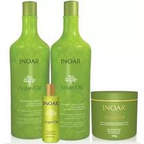 Kit Inoar Argan Shampoo 3 Produtos