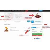 Site Para Lanchonetes Com Sistema De Delivery Pedidos Online