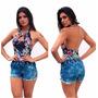 Shorts Feminino Jeans Anita Atacado