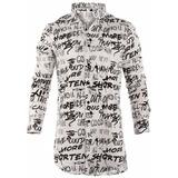 Camisa Farenheite Graffity Algodón Y Poliéster