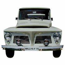 Porta Chaves Rural Willys Carro Antigo Retrô Vintage