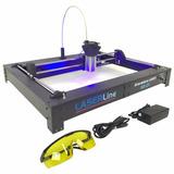 Gravadora E Corte Laser A3 - 3 Watts, Nacional, Completa!
