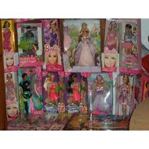 Barbies Lote Completo 21 Barbies Mattel