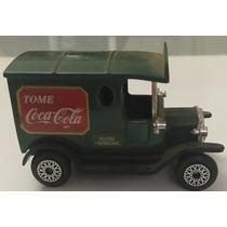 Coca Cola Camión Antiguo Juguete Colección Auto