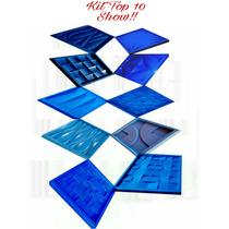 Formas De Silicone P/ Placa Gesso Cimento Kit Top 10