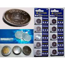 100 Pilas Cr2032 Tianqiu Bateria Litio 3v Reloj, Cpu,control