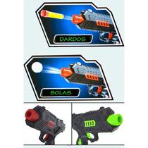 Pistola De Agua, 2 En 1 Lanza Esferas De Gel Y Balas De Goma