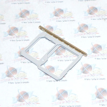 Refaccion Bandeja Doble Porta Sim Sd Lg G5 Original Dorado