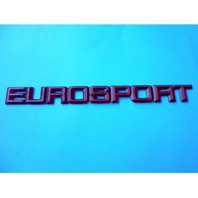 Emblema Eurosport Cutlass Oldsmobile Chevrolet Rojo