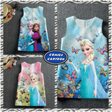 Bellos Vestidos Frozen Importados Niñas