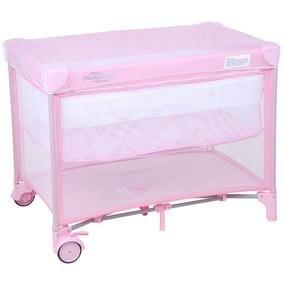 Mini Berço Portátil Pink Burigotto