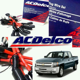Cables Bujia Chevrolet Silverado 5.3/avalanche/tahoe Acdelco