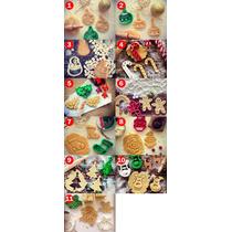 Cortador De Biscoito De Natal Com Motivos Natalinos Em 3d