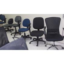 Cadeira Executiva Nr 17 Semi Nova Ótimo Preço Lote 100 Peças