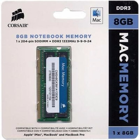Memoria Corsair Macbook Pro 8gb Ddr3 1333mhz Certificada Mac