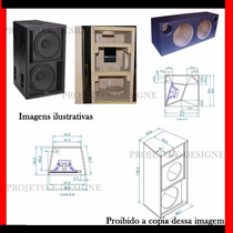 + De 400 Projetos De Caixas De Som + Line Array # 2015 #