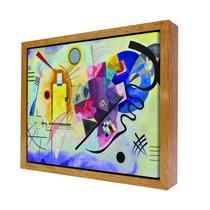 Cuadros Decorativos Moderno En Canvas Con Marco Kandinskyi