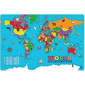 Educational Insights Mundial Espuma Mapa Puzzle