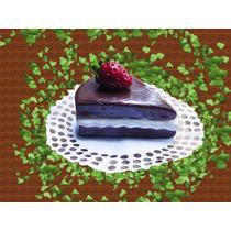 Adornos Recuedo Regalo Mini Torta Porcion Porcelana Fria