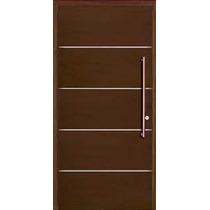 Puertas madera modernas aberturas puertas madera de - Puertas exteriores modernas ...