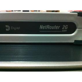 Modem Roteador Digitel Netrouter 2g 3214 + Cabo Db25 Pra V35
