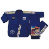 Traje,gi Jitsu,azul,650grs/m2,1.40mt Estatura,las Condes,wma