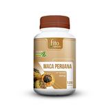 Maca Peruana Original 100% Pura E Natural 120 Cápsulas 500mg