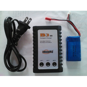 Cargador Bateria Lipo + Bateria De 7.4volts A 1000 Mah 20c