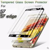 Película De Vidro S7 Edge Frente Curvada + 2 Tipos Traseira