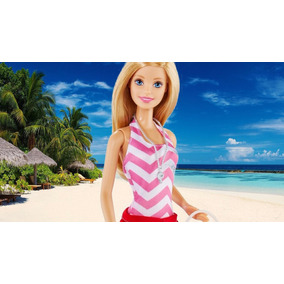 Barbie Salvavidas Baywatch Quiero Ser Lifeguard Mattel