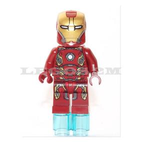 Lego Original Boneco Homem De Ferro 45 - Marvel